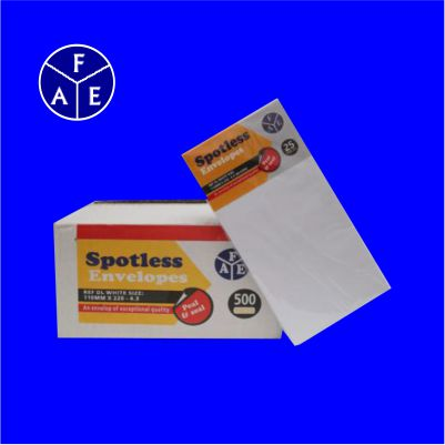 Envelope White 4.3x8.7 SPOTLESS